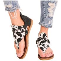 Women's Posh Gladiator Sandals Casual Comfy Vintage Summer Flip Flop Flat Sandals with Zipper
