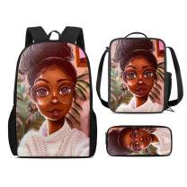 Horeset Casual Daypack for Kids Animal Print Cute School Backpack Shoulder Bag