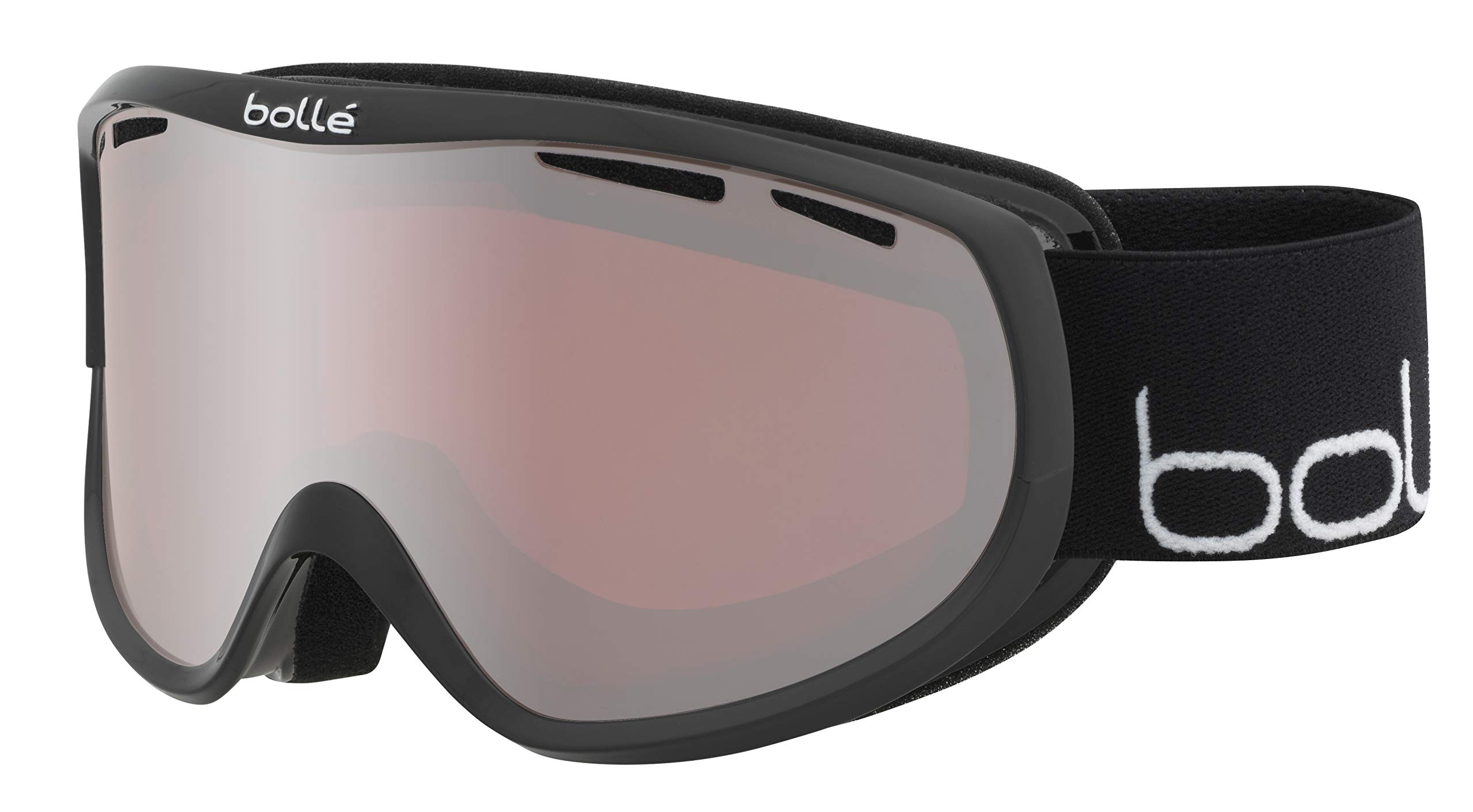 Bollé Sierra Shiny Black & Gold/Sunshine Small-Medium Ski Goggles