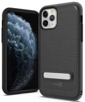 CoverON Metal Kickstand Protective SleekStand Series for iPhone 11 Pro Max Case, Midnight Black