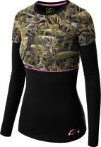 Fishouflage Ladies A-Lure Long-Sleeve Performance T-Shirt
