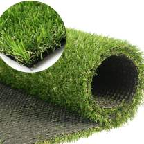 GL Artificial Grass Turf Customized Sizes, Artificial Lawn for Dogs, 20MM Thick Faux Grass, Synthetic Outdoor Indoor Rug Area 7FTX7FT(49 Square FT)
