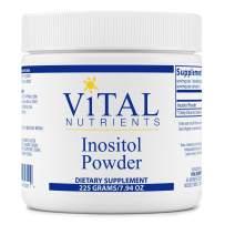 Vital Nutrients - Inositol Powder - Healthy Neurotransmitter Metabolism Support - Vegetarian - 225 Grams