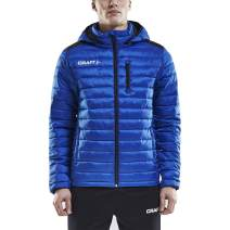 Craft Isolate Men's Puffer Jacket with Hood - Packable, Quilted Coat for Men