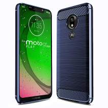 Sucnakp for T-Mobile revvlry Case,Motorola Moto G7 Play/Optimo XT1952DL Case TPU Shock Absorption Cell Phone Cases Technology Raised Bezels Protective Cover for T-Mobile revvlry(TPU Blue)