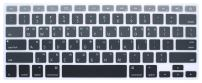 HRH Korean Silicone Keyboard Cover Skin for MacBook Air 13,MacBook Pro 13/15/17 (with or w/Out Retina Display, 2015 or Older Version)&Older iMac USA Layout Keyboard Protector-Ombre Gray