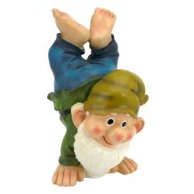 Garden Gnome Statue - Handstand Henry - Lawn Gnome