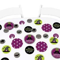 Big Dot of Happiness Happy Halloween - Witch Party Giant Circle Confetti - Party Decorations - Large Confetti 27 Count