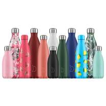 Chilly's Bottles   Leak-Proof, No Sweating   BPA-Free Stainless Steel   Reusable Water Bottle   Double Walled Vacuum Insulated   Keeps Cold for 24+ Hrs, Hot for 12 Hrs