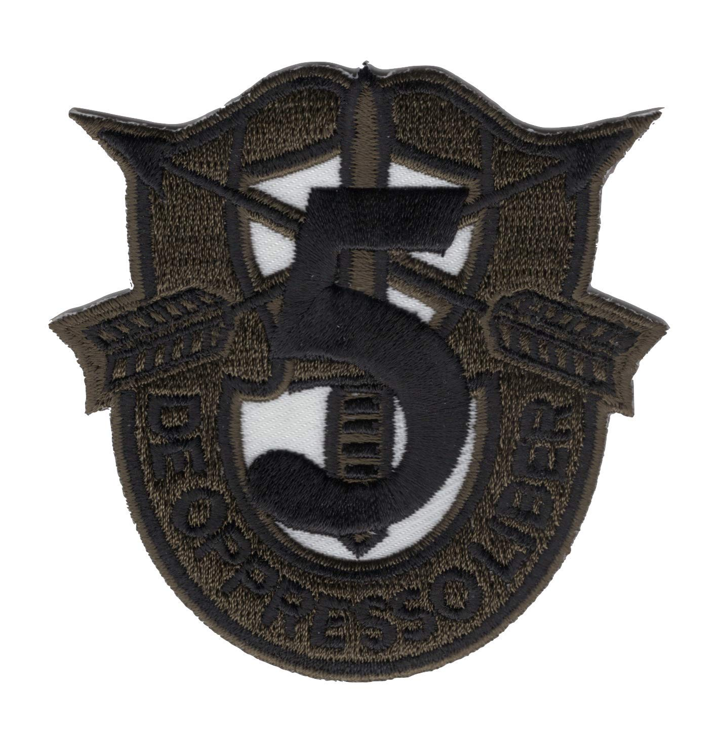 5th Special Forces Group Crest OD Green Patch