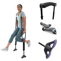 SportSwings - Black - Tall - Crutches - Fun, Safest, Lightweight, Comfortable - What Orthopedic Surgeons Recommend for a Quicker Recovery