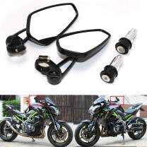 Rearview CNC Motorcycle Mirrors for Harley Honda GROM MXS125 CB500F MT-03 MT-07 FZ-07 MT-09 MT-10 Z125 pro Z650 Z750