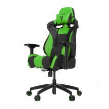 VERTAGEAR S-Line 4000 Gaming Chair, Medium, Black/Green