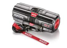 """WARN 101130 AXON 35-S Powersports Winch with Spydura Synthetic Cable Rope: 3/16"""" Diameter x 50' Length, 1.75 Ton (3,500 lb) Pulling Capacity"""