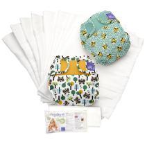 Bambino Mio, miosoft cloth diaper set, mix, size 1 (<21lbs)