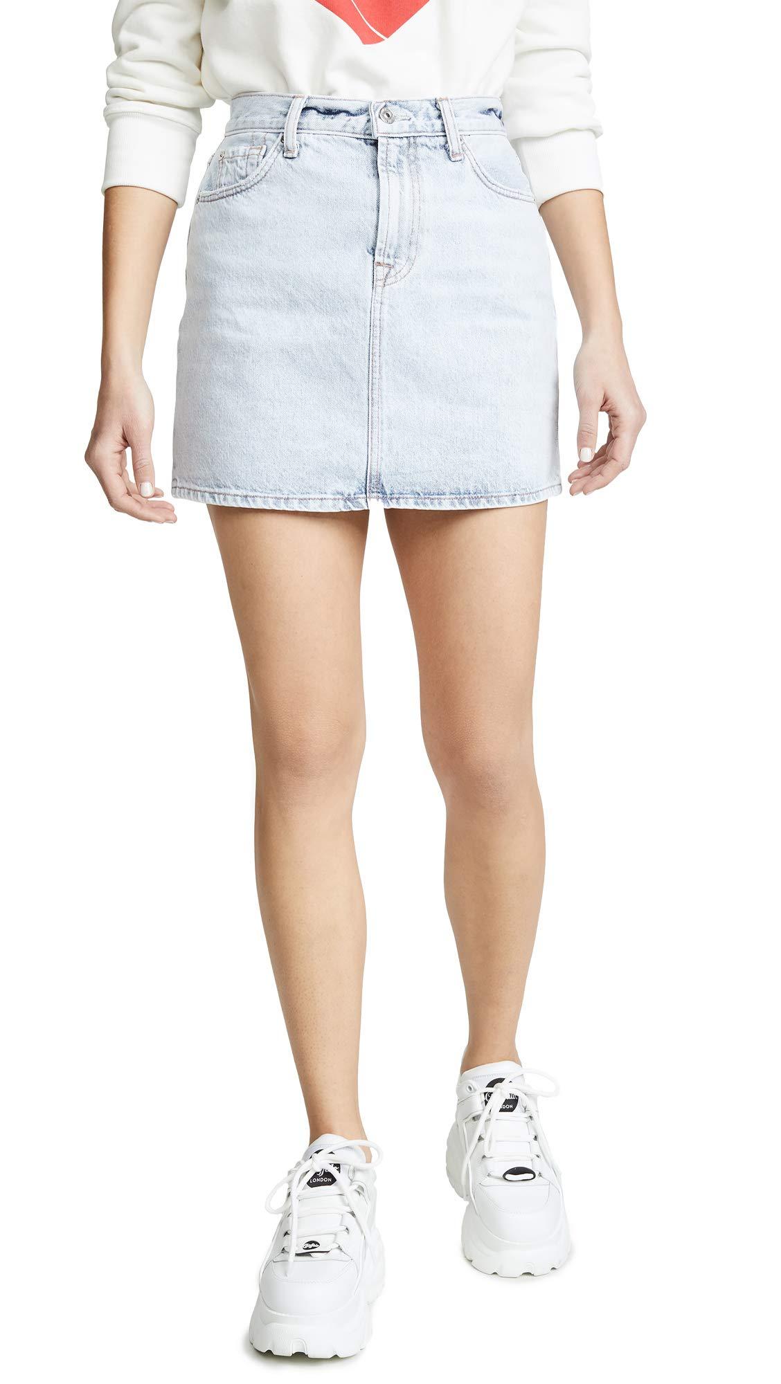 7 For All Mankind Women's Miniskirt