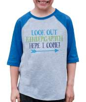 7 ate 9 Apparel Kids Look Out Kindergarten School Shirt