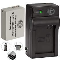 BM Premium NB-10L Battery and Charger Kit for Canon PowerShot SX40 SX50 HS SX60 HS G15 G16 G1 X Digital Camera