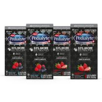 Pedialyte AdvancedCare Plus Electrolyte Powder, with 33% More Electrolytes and  PreActiv Prebiotics, Berry Frost and Strawberry Freeze Variety Pack, Electrolyte Drink Powder Packets, 0.6 Oz (24 Count)