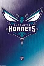 "Trends International Charlotte Hornets Logo Wall Poster 22.375"" x 34"""