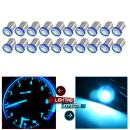 BA9S LED Dash Instrument Panel Cluster Ash Tray Light Bulbs 1815 1816 182 1889 1891Replacement fit for Instrument panel Glove box License plate Boat cabin lamp Blue (ice blue)