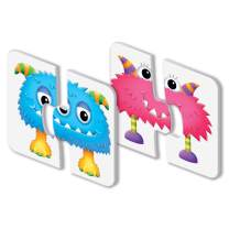 The Learning Journey: My First Match It - Monster Match - Puzzle Games for Toddlers - 15 Self-Correcting Matching Picture Game - Award Winning Toys