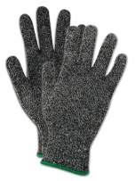 Magid Glove & Safety XKS210-9 Magid Cut Master XKS XKS210 High-Density Elasticized Gloves - Cut Level 4, 9, Black, 9 (Pack of 12)
