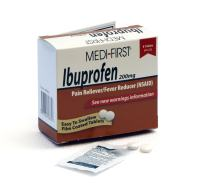 Medique Products 80830 Medi- First Ibuprofen Tablets, 8 Tablets, 4 packets of 2