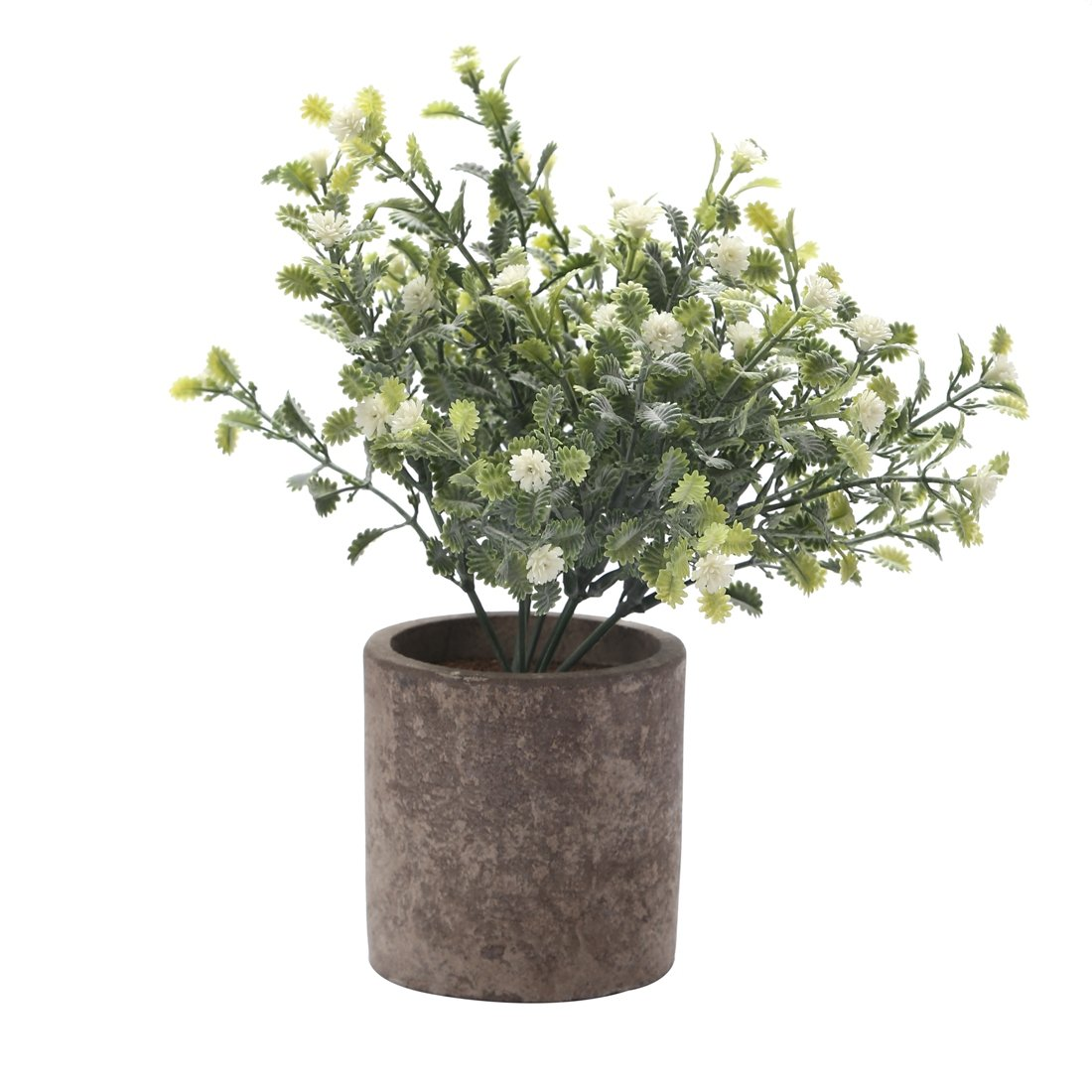 HC STAR Artificial Plant Potted Mini Fake Plant Decorative Lifelike Flower Green Plants - 1103