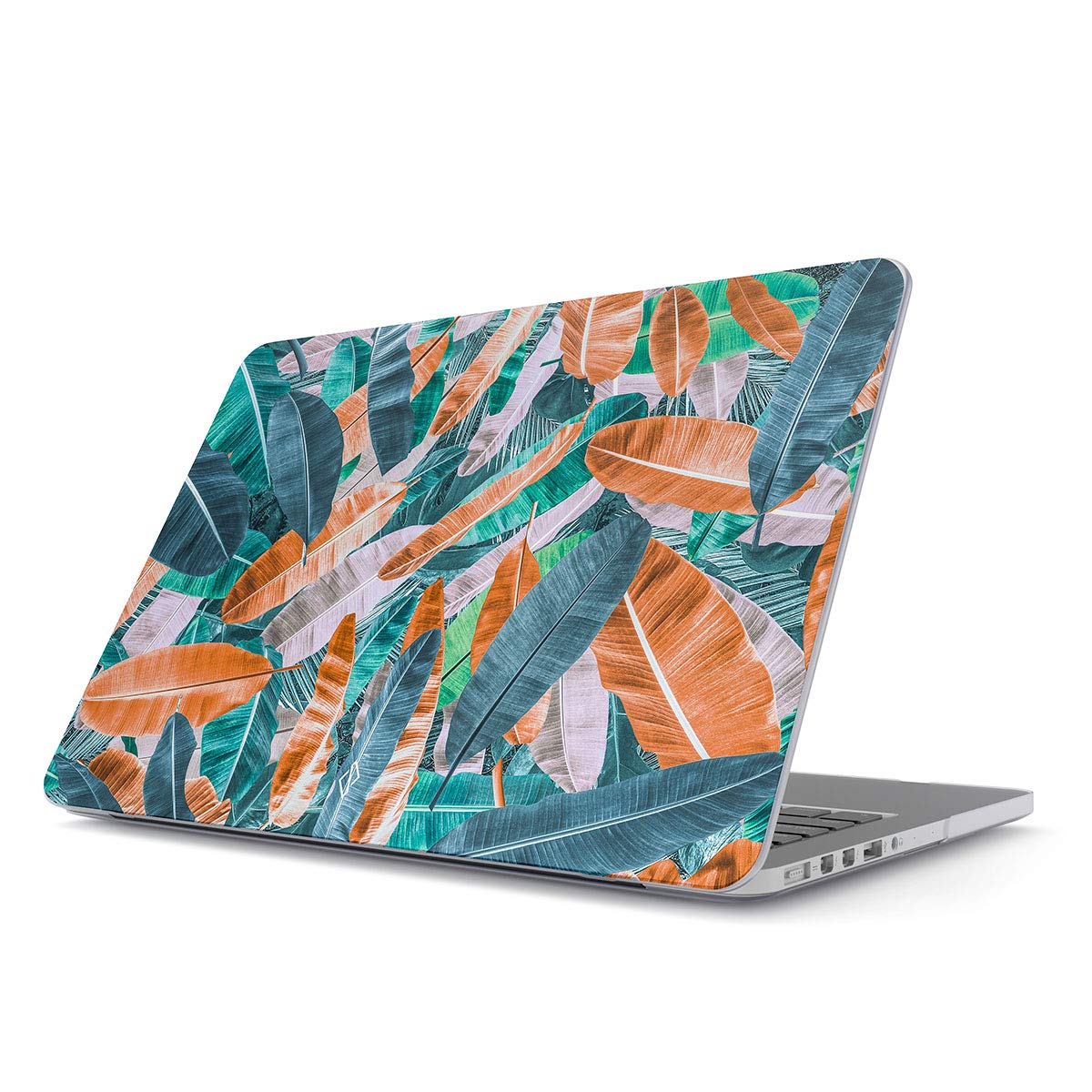 BURGA Hard Case Cover Compatible with MacBook Pro 15 Inch Case Release 2012-2015, Model: A1398 Retina Display NO CD-ROM Tropical Bannana Tree Leaves Palm Leaf Exotic Colorful Palms Summer
