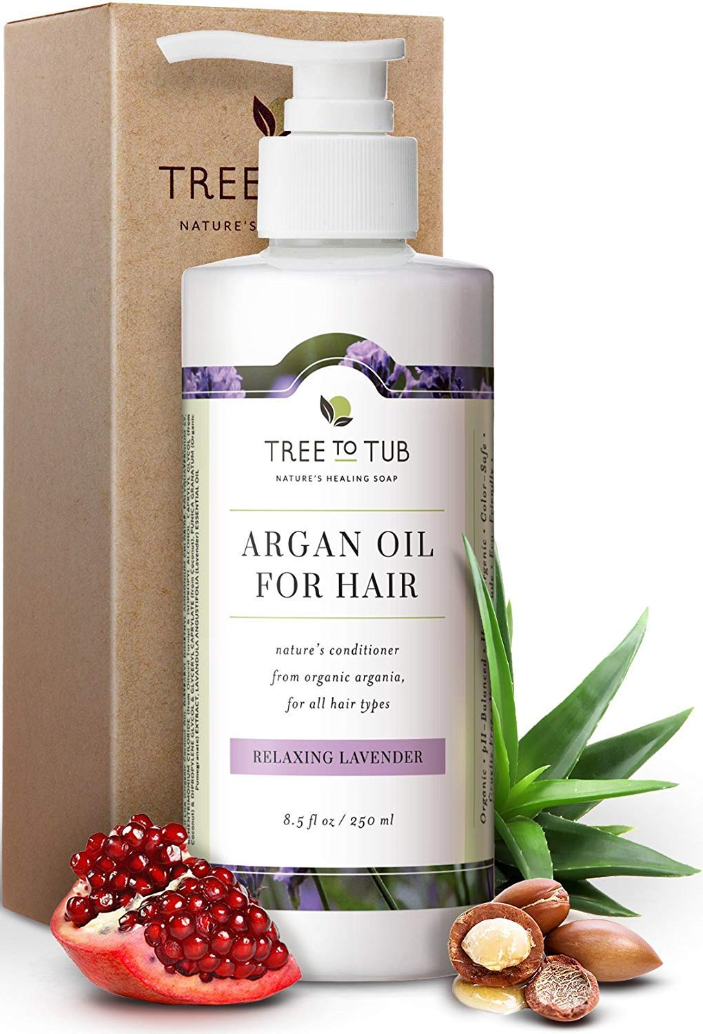 Real, Organic Hair Conditioner For Dry Hair, The Only pH 5.5 Balanced Lavender Sulfate Free Conditioner For Sensitive Skin – Hair Conditioner For Damaged Hair With Fresh Eco-Friendly Wild Soapberries