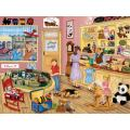 Bits and Pieces - 500 Piece Jigsaw Puzzle for Adults - Tim's Toy Store - 500 pc Local Shop Jigsaw by Artist Kay Lamb Shannon