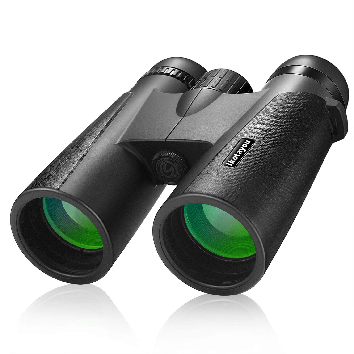 Binoculars for Adults,12x42 Powerful HD Men Gift Binoculars with Low Light Night Vision for Birding Watching Hunting Hiking Camping Concerts Travel Sports,BAK4 Prism FMC Lens with Strap Carrying Bag