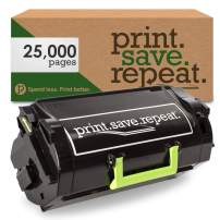 Print.Save.Repeat. Lexmark 53B1H00 High Yield Remanufactured Toner Cartridge for MS817, MS818 [25,000 Pages]