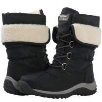 GLOBALWIN Women's Faux Fur Lined Winter Snow Boots