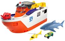 Matchbox Mission: Marine Rescue Shark Ship (Discontinued by manufacturer)