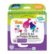 LeapFrog LeapStart 3D Trolls Solve It All with Poppy and Branch Book, Great Gift for Kids, Toddlers, Toy for Boys and Girls, Ages 4, 5, 6, 7