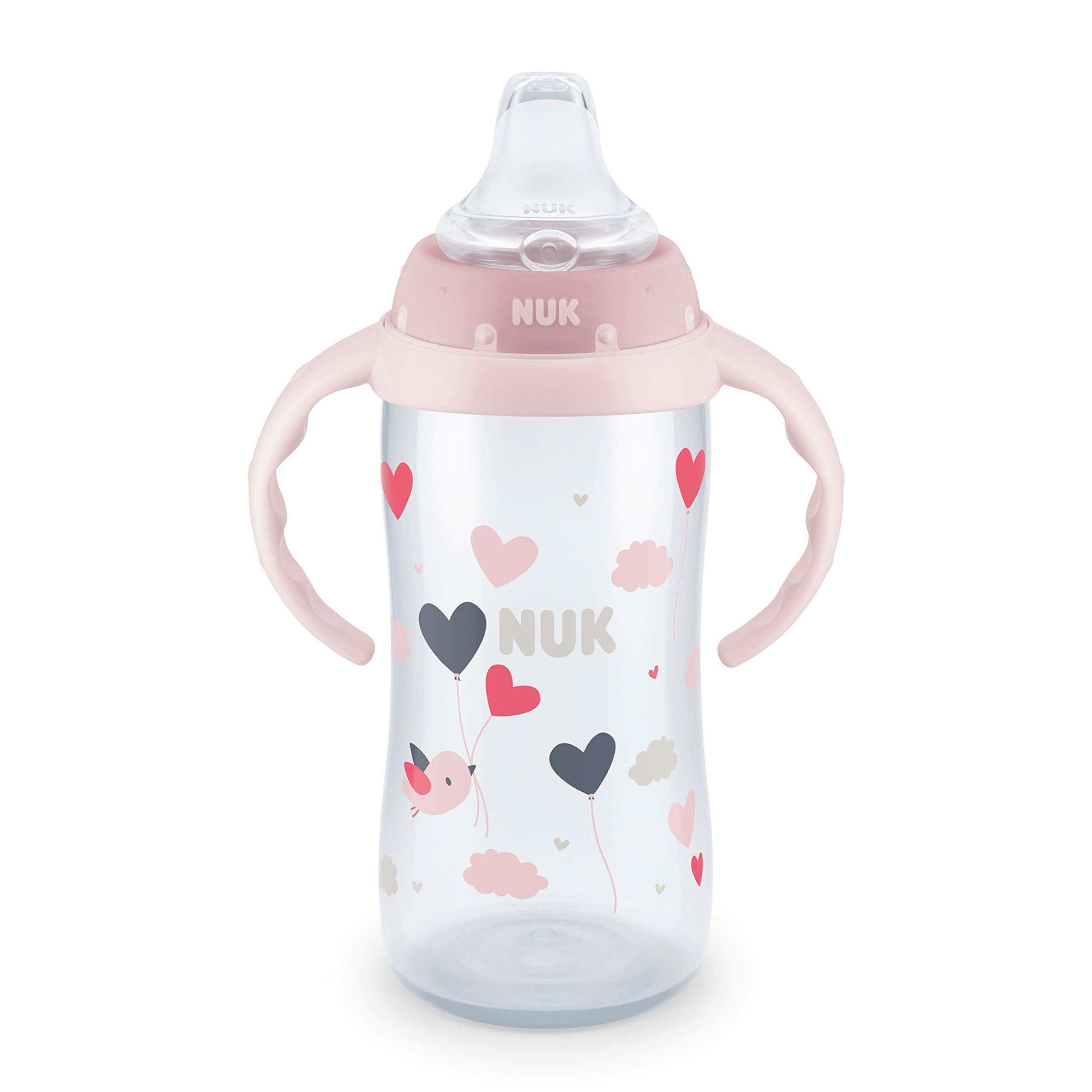 NUK Learner Cup, 10oz, Hearts