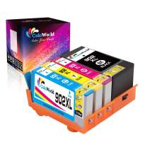 ColoWorld Remanufactured Ink Cartridge Replacement for HP 902 XL 902XL Use for HP OfficeJet Pro 6968 6978 6958 6970 6962 6960 6979 6950 6954 6975 6961 6963 6964 Printer (1C/1K/1M/1Y, 4 Pack)