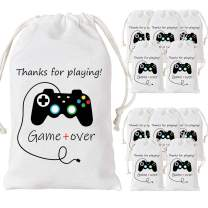 12 Pack Video Game Party Bags Gaming Party Favor Bags Supplies for Birthday Party Supplies