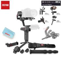 Zhiyun Weebill LAB 3-Axis Handheld Wireless Image Transmission Camera Stabilizer for Mirrorless Camera OLED Display Handheld Gimbal Creator Package Phone Holder Servo Follow Focus Included