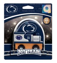 MasterPieces NCAA Penn State Nittany Lions, Real Wood Toy Train Engine, For Ages 3+