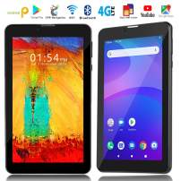 Indigi 4G LTE GSM Unlocked Ultra-Slim 7-inch Google Certified Android Pie TabletPC w/DualSIM Slots (QuadCore CPU, 2GB RAM/16GB ROM)
