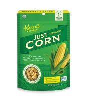 Karen's Naturals Organic Just Corn, 3 Ounce Pouch (Pack of 6) (Packaging May Vary) Organic All Natural Freeze-Dried Fruits & Vegetables, No Additives or Preservatives, Non-GMO