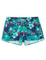 SURF CUZ Women's Prisma Board Short - Quick Dry Fabric Women Swim Shorts for Beach or Swim