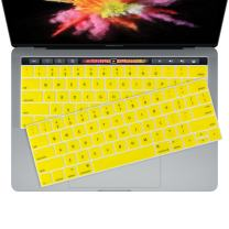 2 of 2016 Yellow Keyboard Cover Skin for New 2016 MacBook Pro 13 (A1706 A1708) & MacBook Pro 15 (A1707) by TotugaArmor