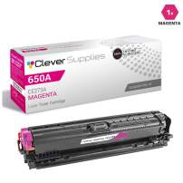 CS Compatible Toner Cartridge Replacement for HP Enterprise M750 CE273A Magenta HP 650A Color Laserjet M750dn CP5525n M750n CP5525xh M750xh Enterprise CP5525n M750 CP5525xh