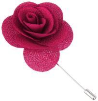 Flairs New York Gentleman's Essentials Premium Handmade Flower Lapel Pin Boutonniere