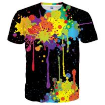 Yasswete Mens Womens Graphic T-Shirts Unisex 3D Printed Short Sleeve Shirts Tops