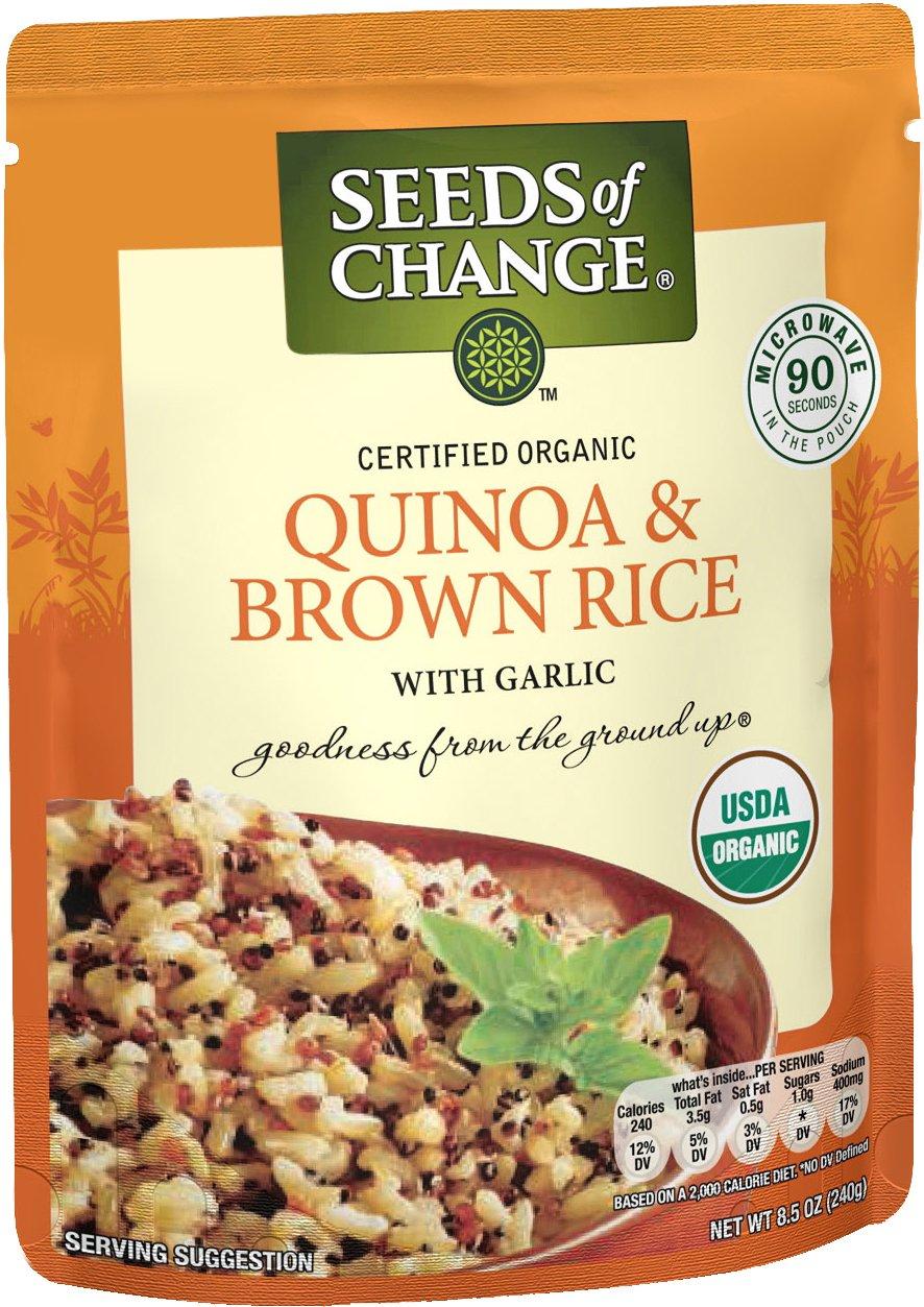 SEEDS OF CHANGE Organic Quinoa & Brown Rice, 8.5 Oz